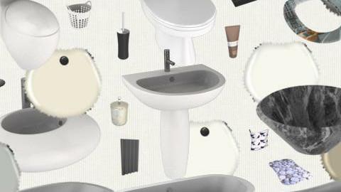 Minimalist bathrooms - by clare299