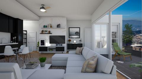 studio - Living room  - by nat mi