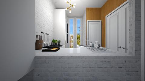 Casa383Kitchen - Modern - Kitchen  - by nickynunes