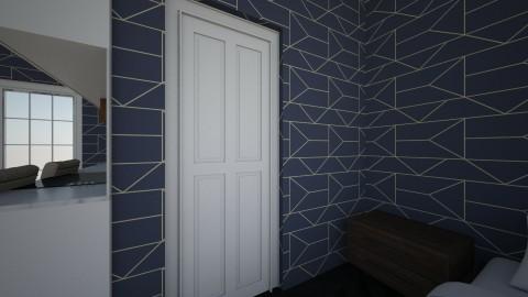 bathroom wall - by PEYTONKA1