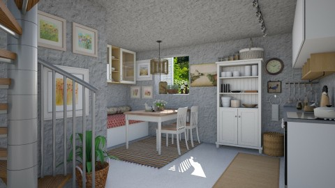 Country Hideaway - Kitchen  - by Joao M Palla