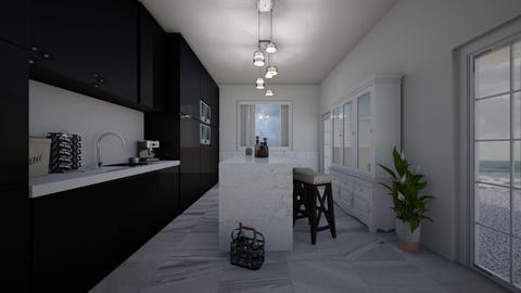 h - Kitchen  - by laurencowper