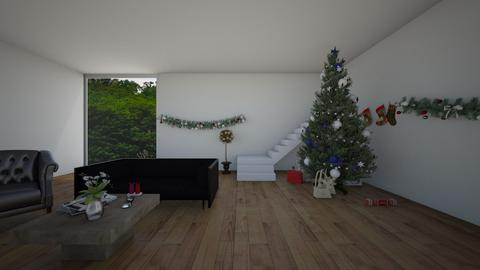 Christmas Time - Living room  - by 29catsRcool