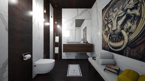 my t - Bathroom  - by Mounir HSSIN