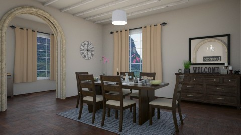 small dining room - by abbigoodwin