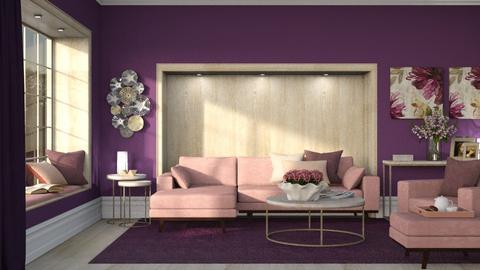 Amy - Minimal - Living room  - by Claudia Correia