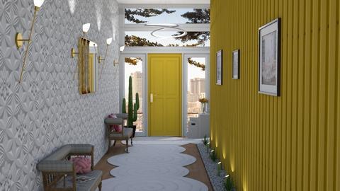 Modern Hallway - by kyrabaldwin