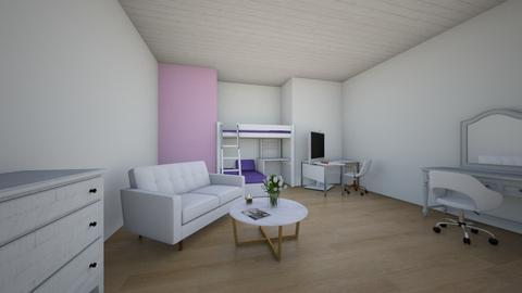 desing challege room 1 - Glamour - Bedroom  - by Ella_martarana