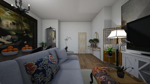 AW LR _ DR - Living room  - by bpmcmahan