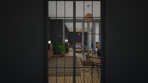SoftLoft_BedroomPillars - Bedroom  - by lovasemoke