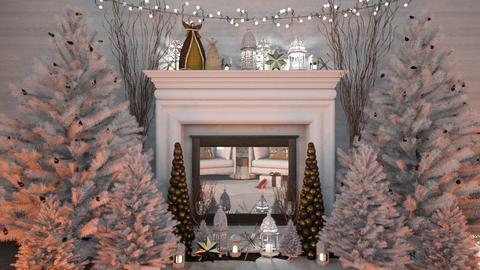 Christmas Shoes - Rustic - Living room  - by Brenda DeVries