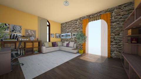 nappali120 - Minimal - Living room  - by Ritus13