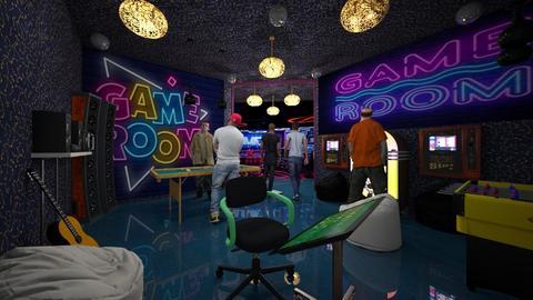 fun gaming room - by ilcsi1860