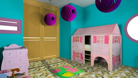 tiger cat whole - Global - Kids room - by elnor