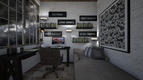 home - Office  - by daydreamer84