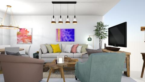 home - Living room  - by meital siman tov