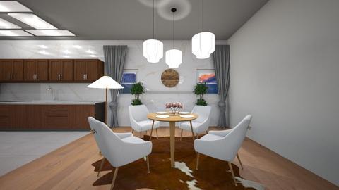 Scandinavian Dining Room - Modern - Dining room  - by TortillaChip