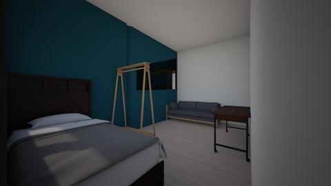 Emilin huone - Modern - Bedroom  - by emilsth
