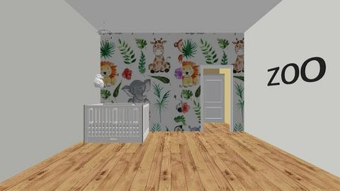 baby room neutral - Kids room  - by clasesytutorias