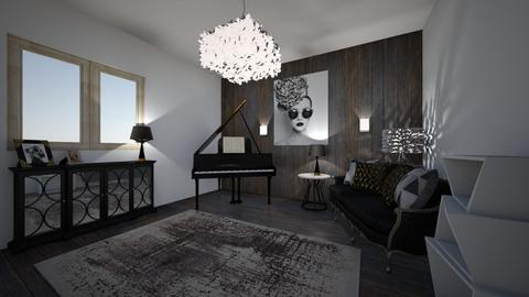 grand piano chill - Living room  - by ange06