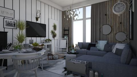 Scandic - Living room  - by Eleonor Debus