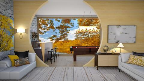 Egg  - Living room  - by ashpashly
