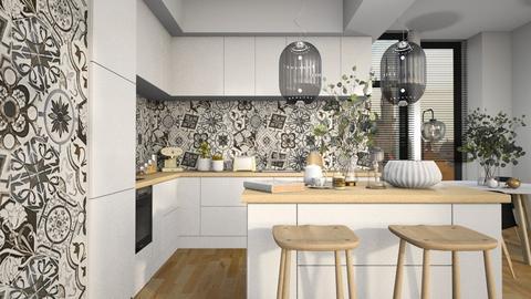 Tiny Kitchen - Kitchen  - by MiaM