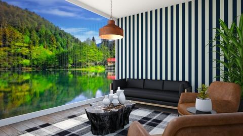 modern salon - Modern - Living room  - by selin demiray1