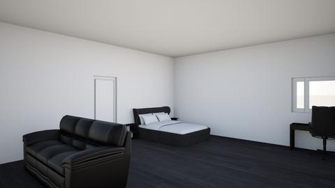 black white - Modern - Bedroom - by Subhankhan010