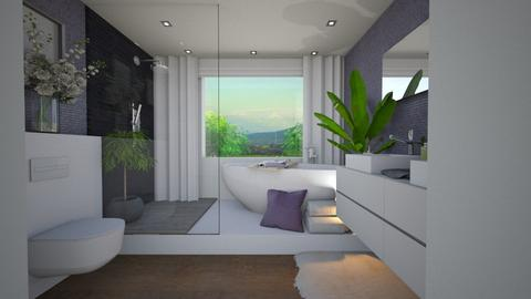 LAVENDER INNA - Modern - Bathroom  - by Inchie