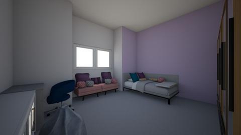 MY not kid like room - Bedroom - by aliceandpapa
