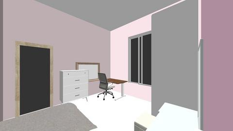 My Bedroom - Bedroom  - by alia_irdina