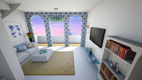 Greek - Living room  - by mycha