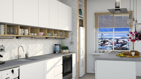 YOO - Modern - Kitchen  - by evahassing