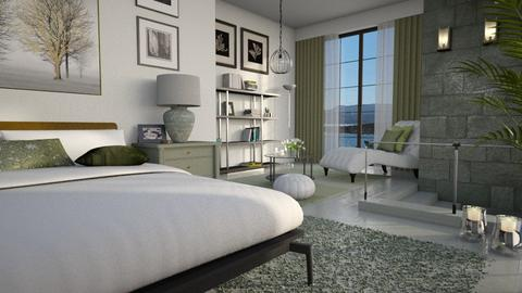 Sage Green Bedroom - Bedroom  - by bigmama14
