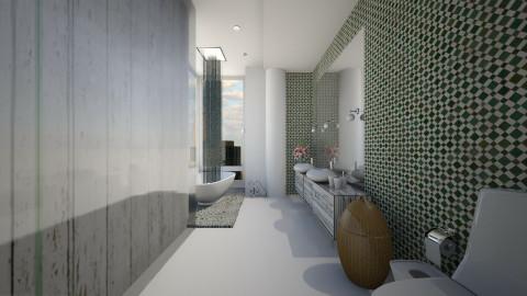 Mint Bath - Modern - Bathroom  - by wagner herbst padilha