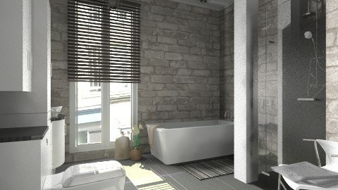 A bathroom - Modern - Bathroom - by Tuija