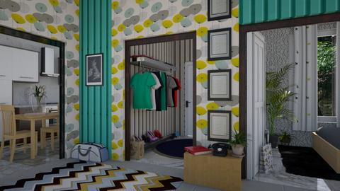 Maximalist hallway - by ilcsi1860