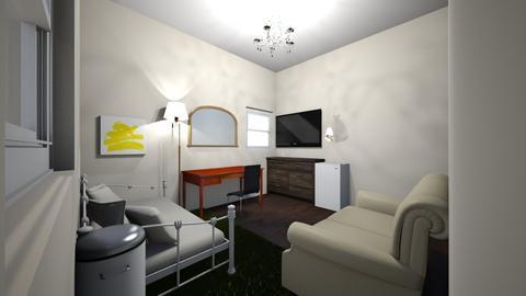 My bedroom - Rustic - Bedroom  - by Carleybee