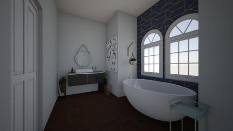 simple - Glamour - Bathroom  - by smurfzilla2