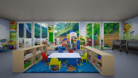 Salle de jeux enfants de 0 a 5 ans - Kids room  - by Laura DROUHARD_58