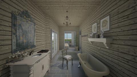 splendour in the grass - Bathroom  - by Sara alwhatever