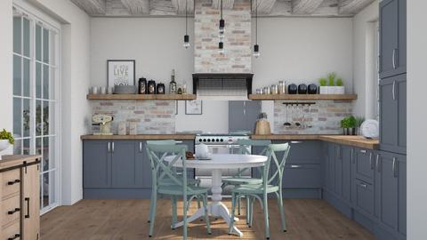 Farmhouse kitchen - Kitchen  - by Lizzy0715