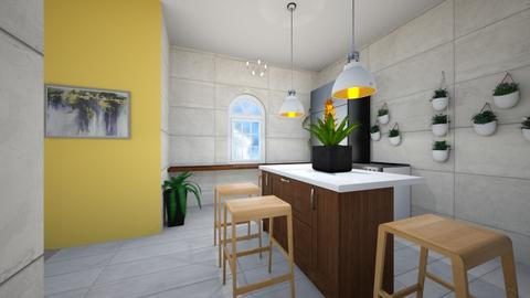 Modern Kitchen - Living room  - by Snowball Styler