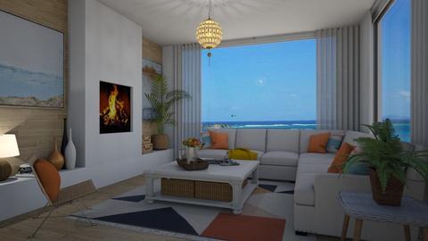 Coastal Living - Living room - by Danielle_ML