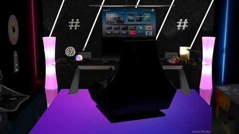 Gaming room - by nat mi
