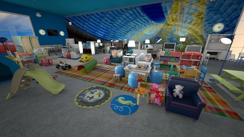 activity room - Eclectic - Kids room  - by anchajaya