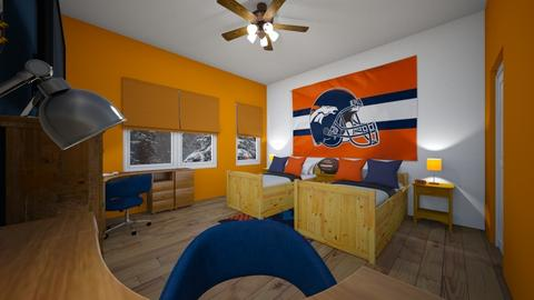 Go Broncos - Bedroom  - by SammyJPili