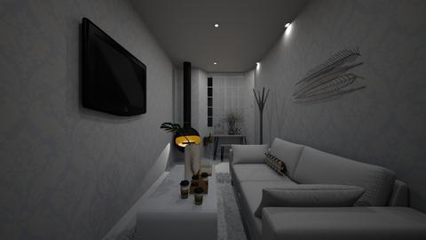 minimalistic living room - Living room  - by melati_am