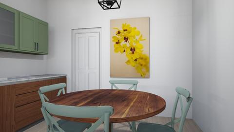 Mint Green Apartment - Minimal - by LittleEponine